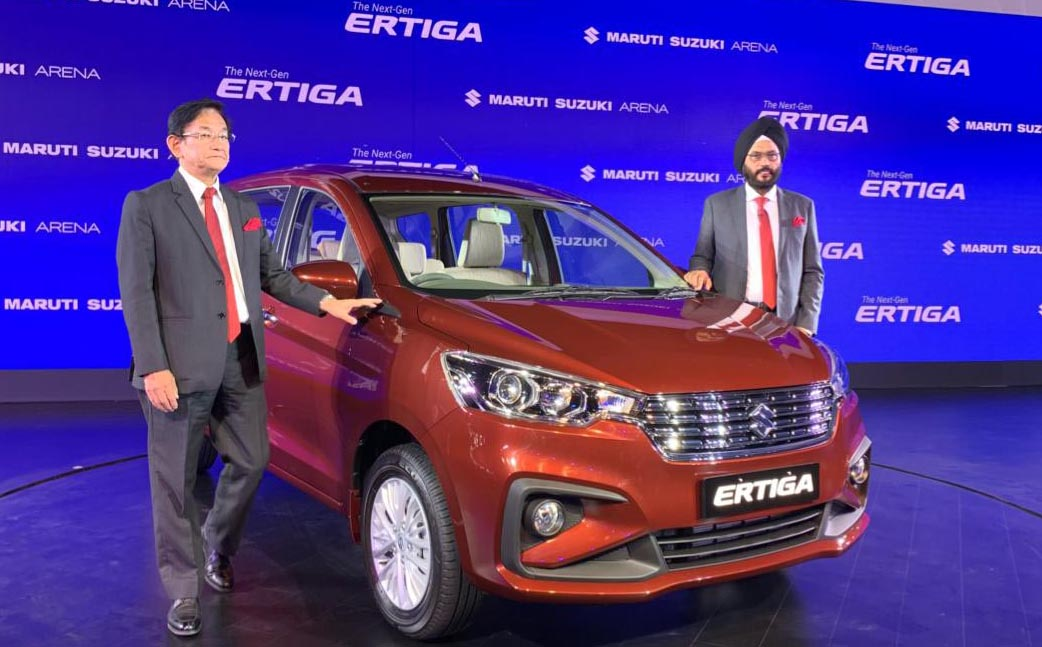 Maruti Launches the All New Suzuki Ertiga Priced From INR 7.44 lac 6