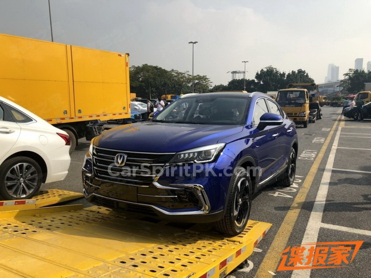 Changan Unveils the CS85 Coupe SUV at Guangzhou Auto Show 1