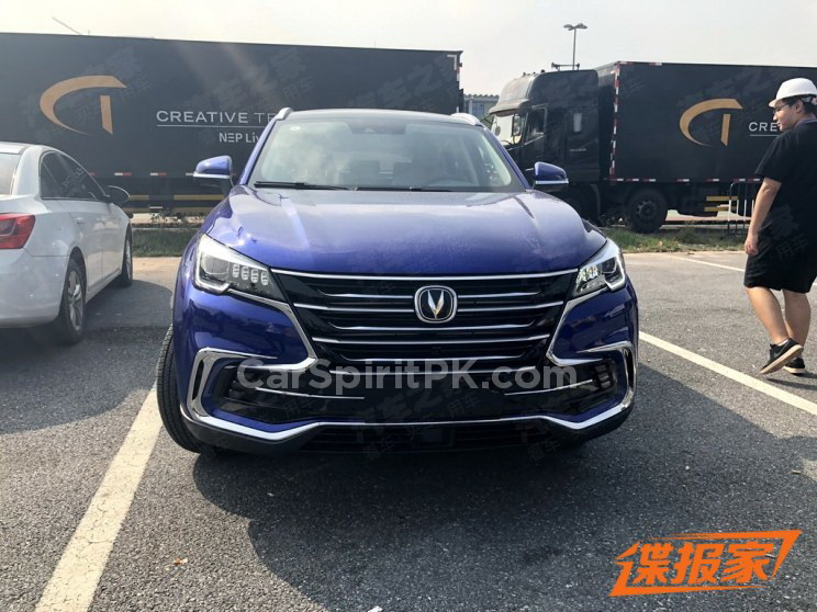 Changan Unveils the CS85 Coupe SUV at Guangzhou Auto Show 7