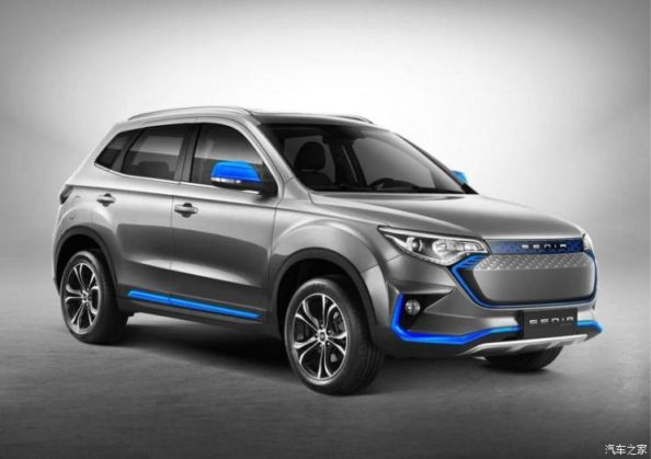 2019 FAW R7 EV400 Launched in China 1