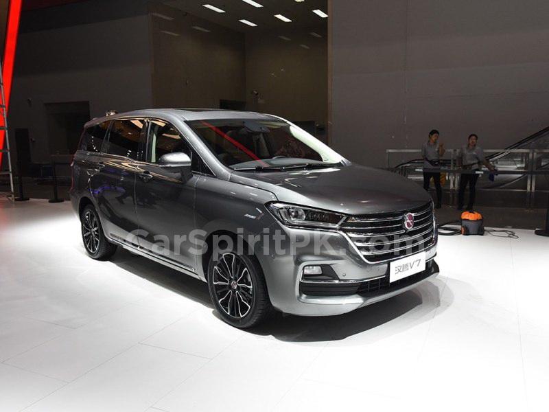 Hanteng Unveils the V7 MPV at 2018 Guangzhou Auto Show 3