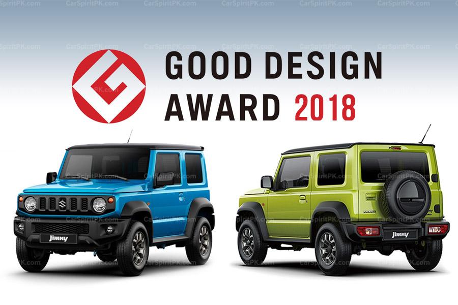 Suzuki Jimny Wins 2018 Good Design Gold Award in Japan 3
