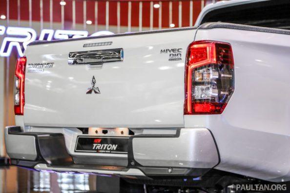 New Mitsubishi Triton Showcased at KLIMS 2018 4