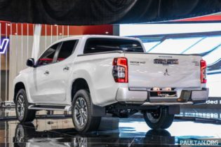 New Mitsubishi Triton Showcased at KLIMS 2018 3