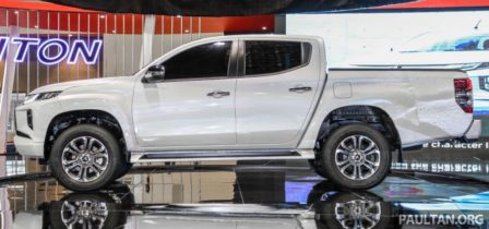New Mitsubishi Triton Showcased at KLIMS 2018 2