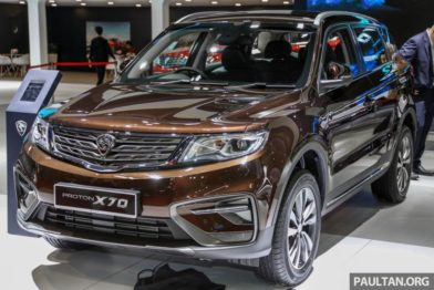 Mahathir Mohammad Gifts Proton X70 SUV to Imran Khan 3