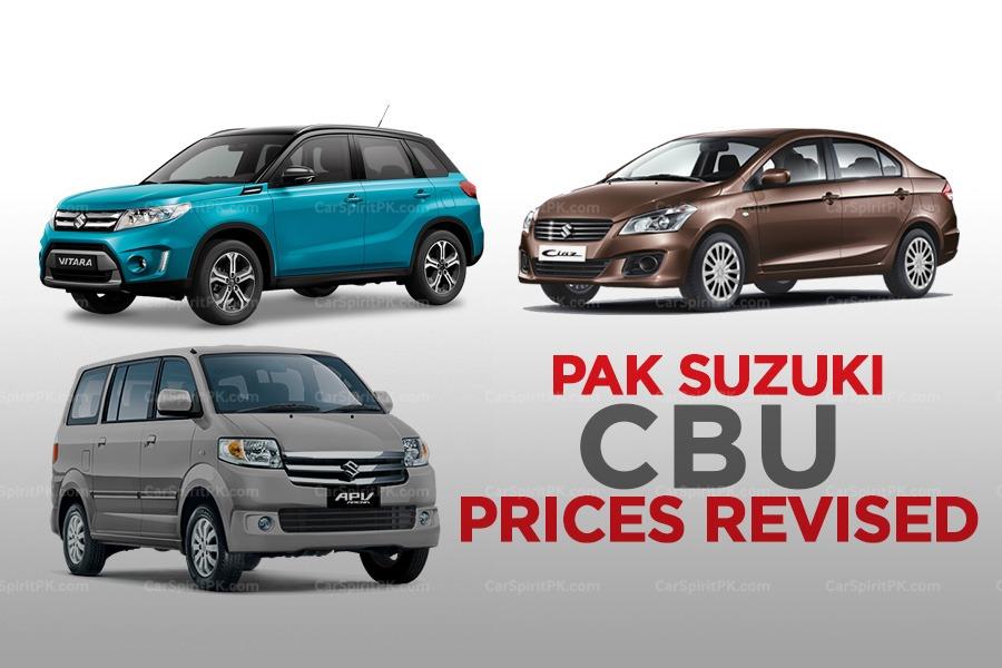 Pak Suzuki Increases its CBU Prices 3