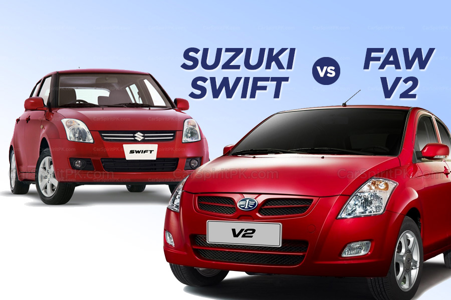Which One to Buy: Suzuki Swift or FAW V2 10