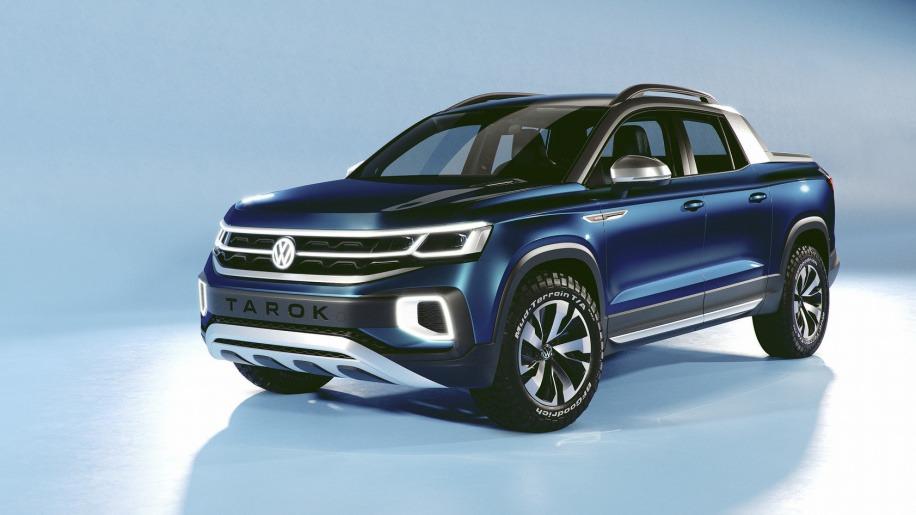 VW Unveils its New Tarok Pickup Concept 8