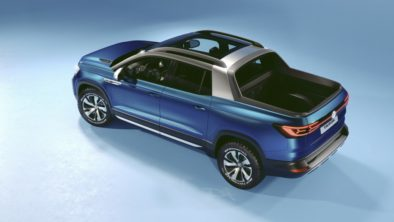 VW Unveils its New Tarok Pickup Concept 10