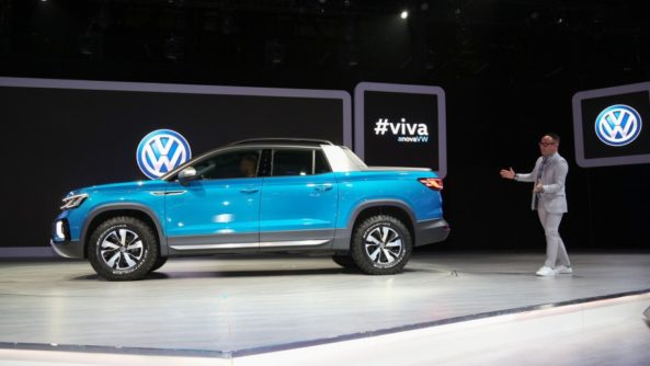 VW Unveils its New Tarok Pickup Concept 2