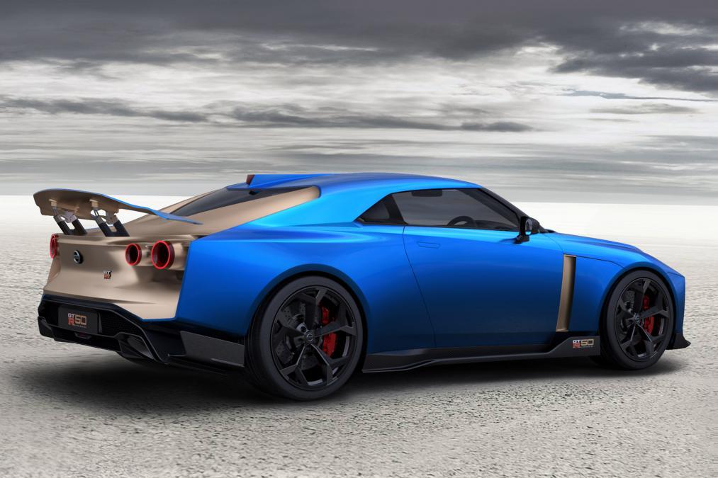 Production Version of EUR 1 Million Nissan GT-R50 Revealed 4