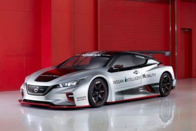 The 322hp Nissan Leaf Nismo RC Electric Race Car Revealed 2