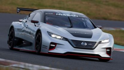 The 322hp Nissan Leaf Nismo RC Electric Race Car Revealed 8