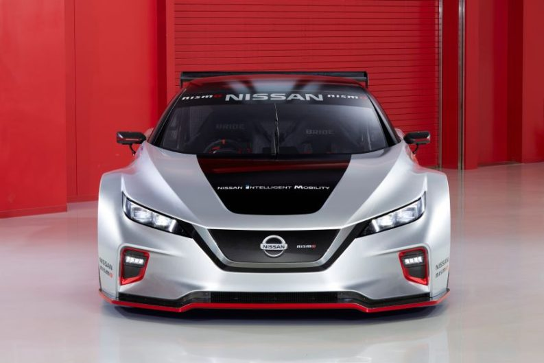 The 322hp Nissan Leaf Nismo RC Electric Race Car Revealed 1