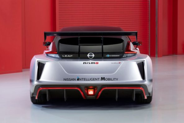 The 322hp Nissan Leaf Nismo RC Electric Race Car Revealed 5