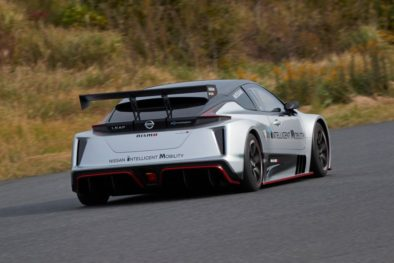 The 322hp Nissan Leaf Nismo RC Electric Race Car Revealed 11
