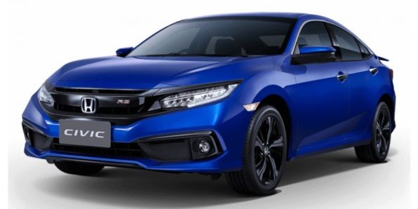 2019 Honda Civic Facelift Launched in Thailand 9