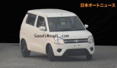 2019 Maruti Wagon R Spied Undisguised 1