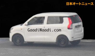 2019 Maruti Wagon R Spied Undisguised 2