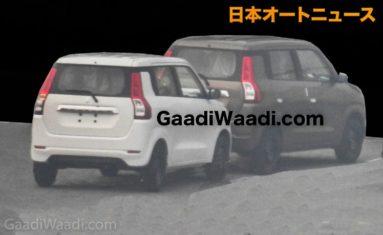 2019 Maruti Wagon R Spied Undisguised 3