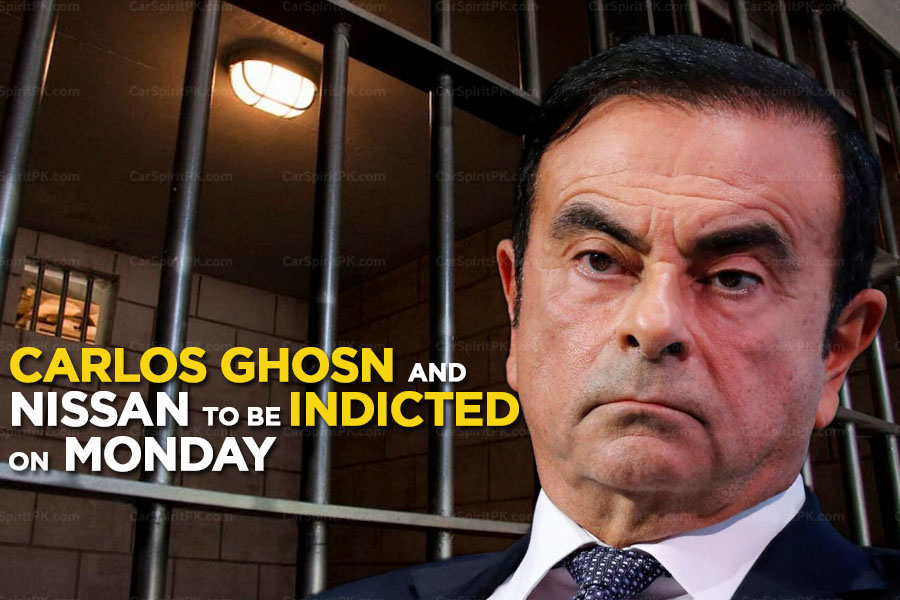 Carlos Ghosn and Nissan Motors to be Indicted on Monday 8