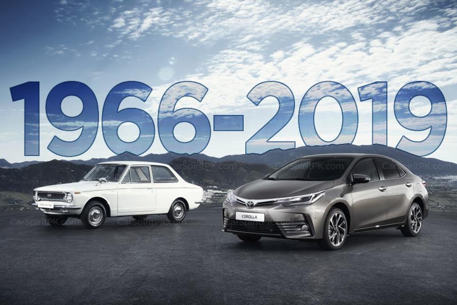 Toyota Corolla- All Generations 9