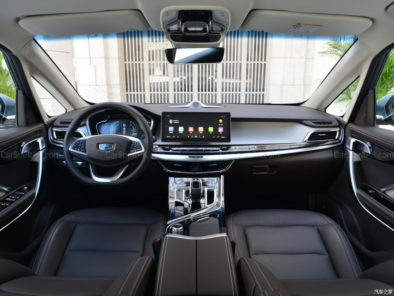Geely Unveils Its First MPV- JiaJi in China 11