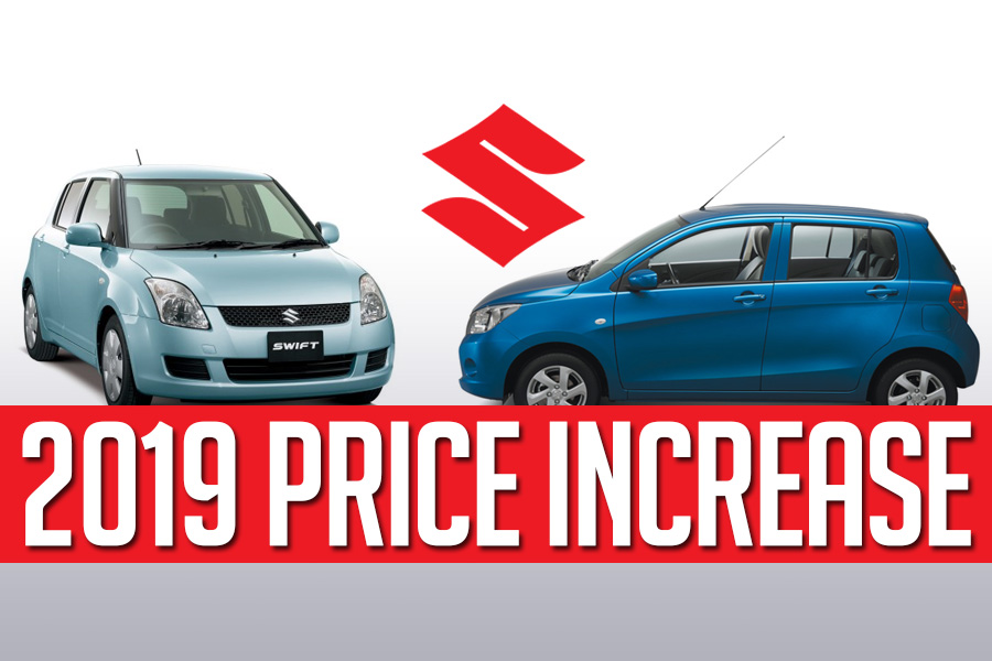 Pak Suzuki Prices Increased from 1st January 2019 4