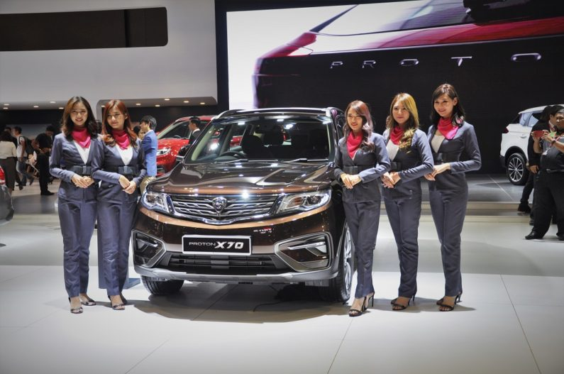 Mahathir Mohammad Gifts Proton X70 SUV to Imran Khan 2