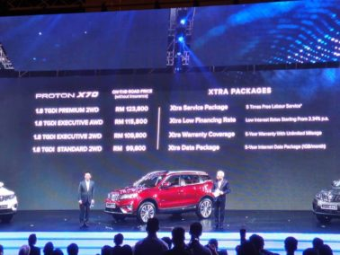 Proton's First SUV- the X70 Launched in Malaysia 13