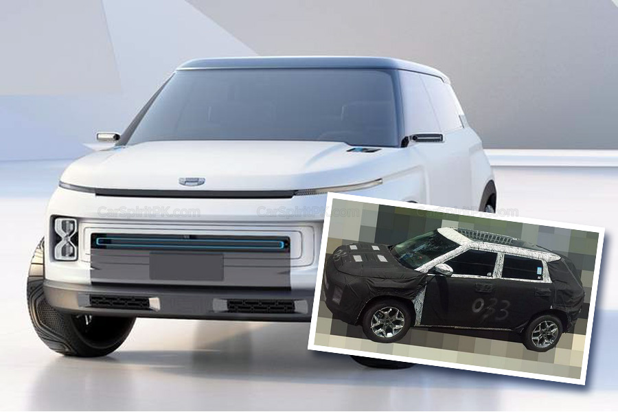 Geely Readying Another Crossover SUV Codenamed SX12 2