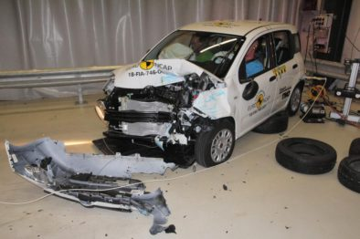 Fiat Panda Gets Zero Star NCAP Crash Test Rating 3
