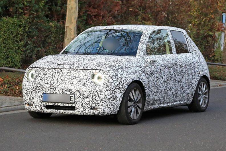 Honda Urban EV Spotted Testing 1