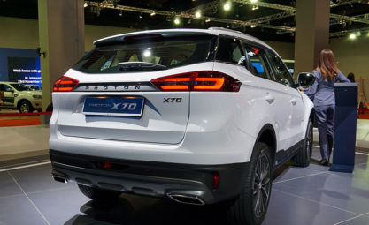Proton's First SUV- the X70 Launched in Malaysia 5