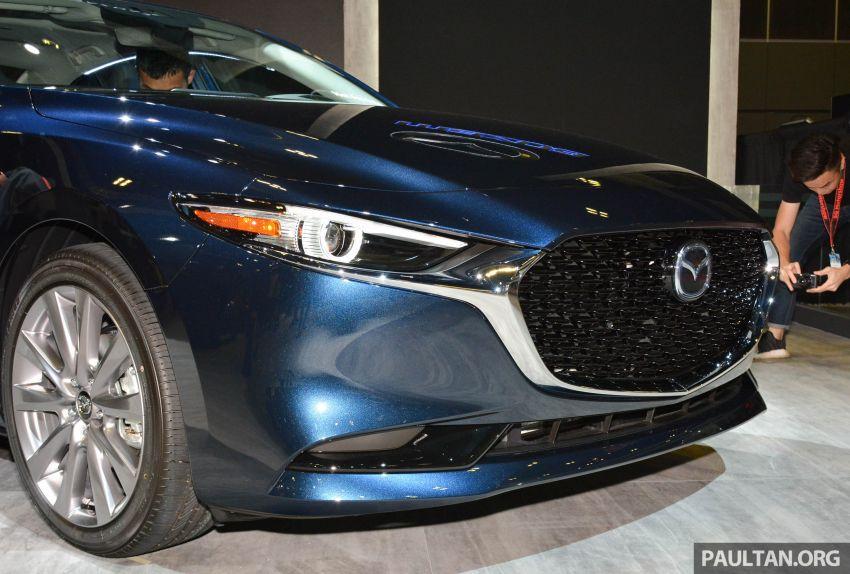 2019 Mazda 3 Previewed at Singapore Motor Show 2