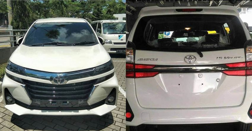 2019 Toyota Avanza Facelift Exposed Ahead of Debut 9