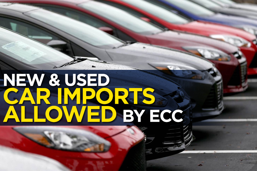 ECC Allows Car Imports- Duty to be Paid in Dollars 10