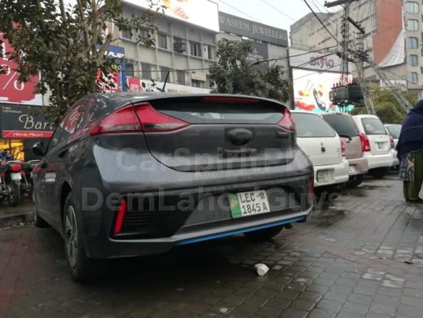 Hyundai Ioniq Hybrid Spotted Again 13