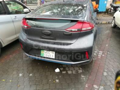 Hyundai Ioniq Hybrid Spotted Again 10