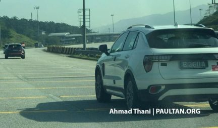 Entire Lynk & Co Range Spotted in Malaysia 2