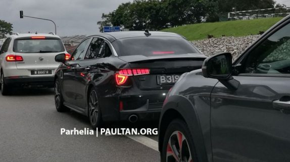 Entire Lynk & Co Range Spotted in Malaysia 7