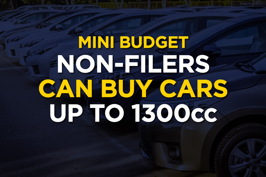 Non-Filers Allowed to Purchase Cars up to 1300cc 6