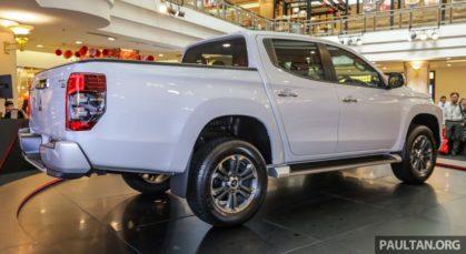 2019 Mitsubishi Triton Launched in Malaysia 3