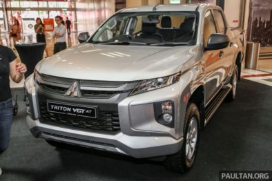 2019 Mitsubishi Triton Launched in Malaysia 13
