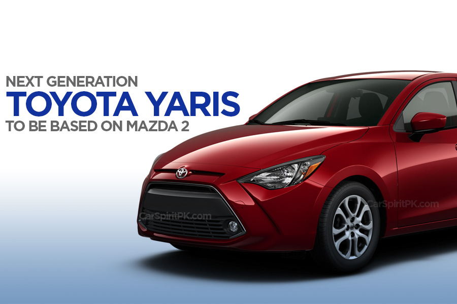 Next Gen Toyota Yaris to be Based on Mazda 2 5