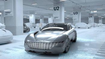 Hyundai and Kia Wireless EV Charging and Autonomous Parking Concept 3