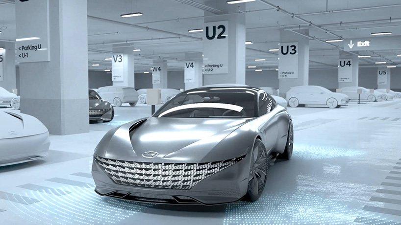 Hyundai and Kia Wireless EV Charging and Autonomous Parking Concept 2