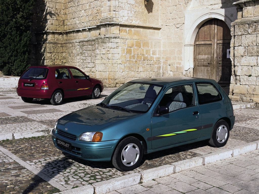 Remembering the Toyota Starlet 8