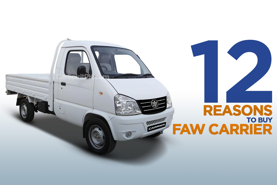 12 Reasons to Buy FAW Carrier 9